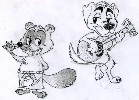 Animal_Crossing_Characters_1_by_GoombaJoe