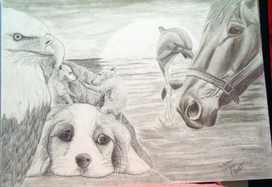 Animals_by_artvandaley