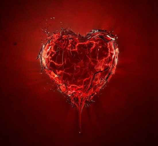 Broken Heart by lucaszoltowski 550x509 20 beautiful heart inspirations