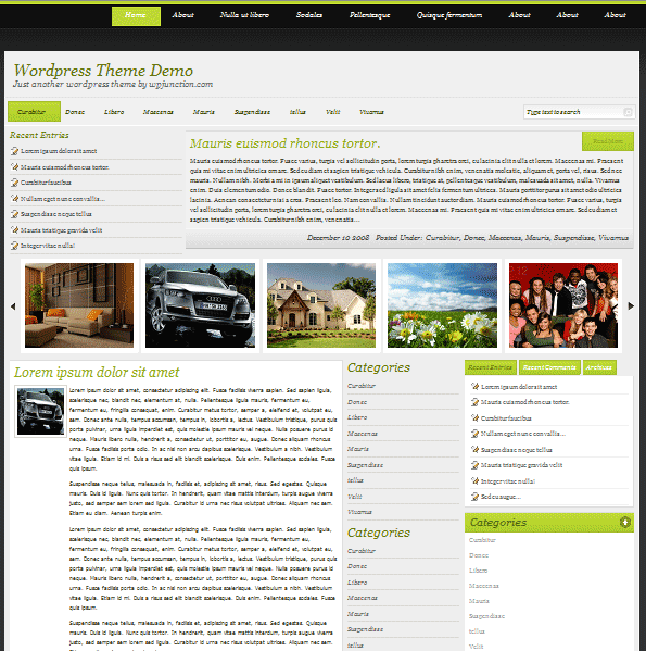 Corponisa 101 free premium wordpress themes