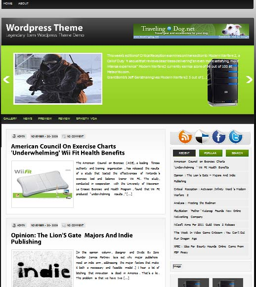 KurosagiHosting 101 free premium wordpress themes
