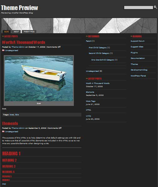 Stripestheme 101 free premium wordpress themes