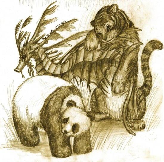 20 Amazing Animal Drawings