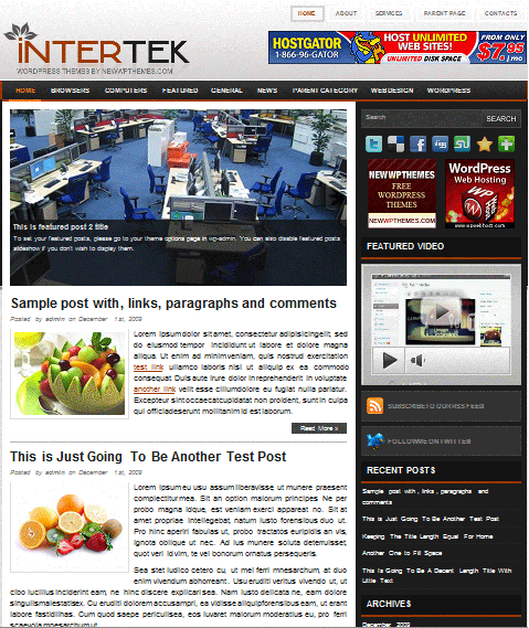 intertek 101 free premium wordpress themes
