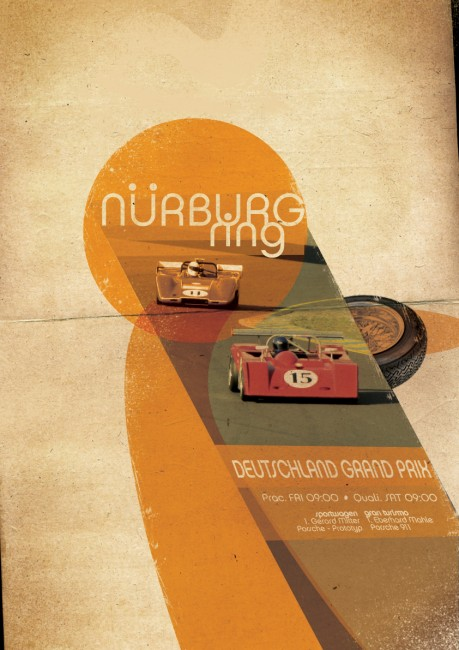 nurburgring by Ike3d 459x650 Old Advertisements And Ad Inspirations