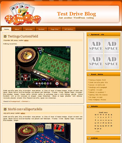 pokermaster03 101 free premium wordpress themes