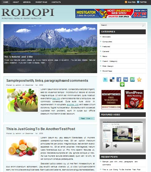 rodopi 101 free premium wordpress themes