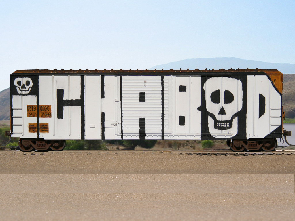 30 Beautiful Graffiti Train Inspirations