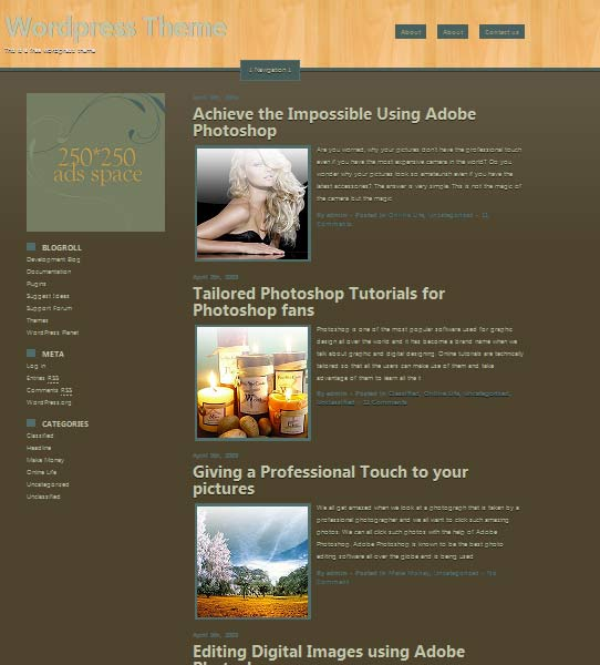 trimass 101 free premium wordpress themes