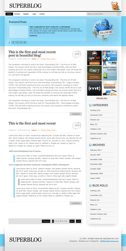 tweetsheep 101 free premium wordpress themes