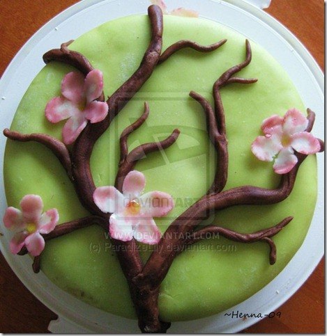 Apple Blossom Cake by ParadizeLily thumb 100 Amazing Examples Of Art You Can Eat