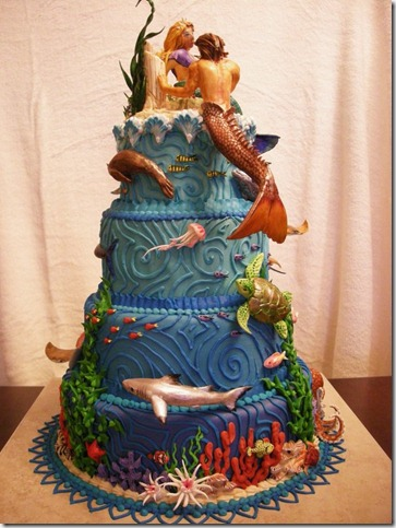 Atlantis Cake veiw 2 by The EvIl Plankton thumb 100 Amazing Examples Of Art You Can Eat