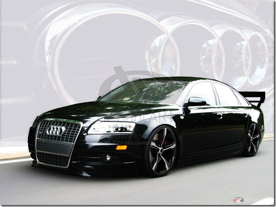 Audi A6 Virtual Tuning by Kyprulez thumb 50 Great Examples of Car Tuning In PhotoShop