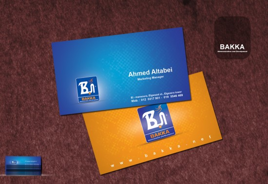 BUSSINES CARD by KASOO 550x378 20 Beautiful Business Card Designs