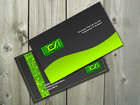 Business card preview by PostaL2600 550x412 20 Beautiful Business Card Designs