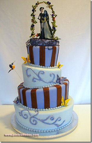 Corpse Bride Cake by pinkcakebox thumb 100 Amazing Examples Of Art You Can Eat