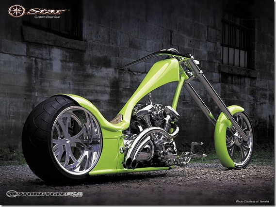 Custom_Yamaha_Road_Star_Chopper