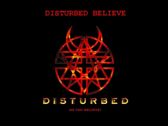 Disturbed wallpaper 550x412 10 The best Rock/Metal Bands Logos
