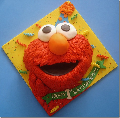 Elmo by Cakerific thumb 100 Amazing Examples Of Art You Can Eat