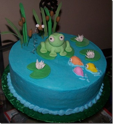 Frog Cake by stacylambert thumb 100 Amazing Examples Of Art You Can Eat