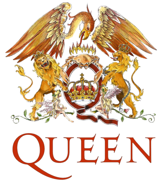 Logo Queen 550x619 10 The best Rock/Metal Bands Logos
