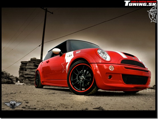 Mini Cooper Tuning by TuningmagNet thumb 50 Great Examples of Car Tuning In PhotoShop