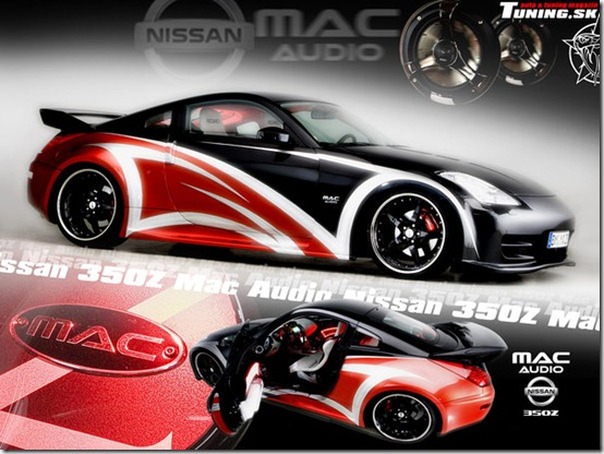 Nissan 350Z Tuning by TuningmagNet thumb 50 Great Examples of Car Tuning In PhotoShop