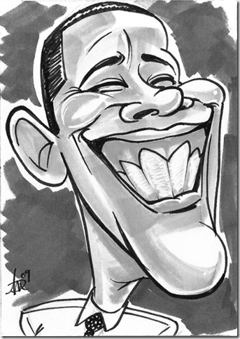 Obama by mainasha thumb 33 Pictures Inspired By Barack Obama