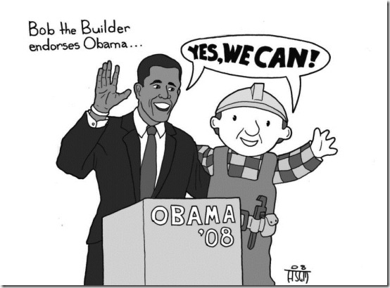Obama the Builder by sayer thumb 33 Pictures Inspired By Barack Obama