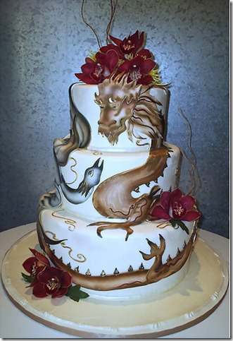 Oriental cake by sweetasanut thumb 100 Amazing Examples Of Art You Can Eat