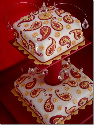 Paisley Cake by Verusca thumb 100 Amazing Examples Of Art You Can Eat