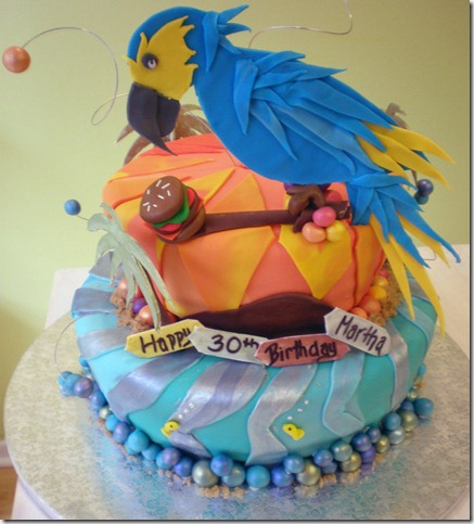 Parrot Head Cake by Heidilu22 thumb 100 Amazing Examples Of Art You Can Eat