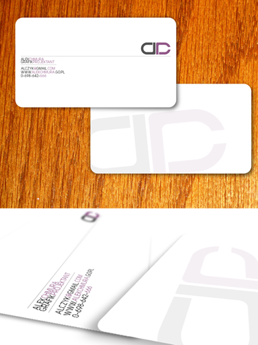 Personal Bussines Card by parafianin 20 Beautiful Business Card Designs