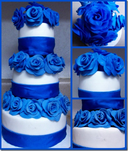 Roses of Blue by Er ca thumb 100 Amazing Examples Of Art You Can Eat