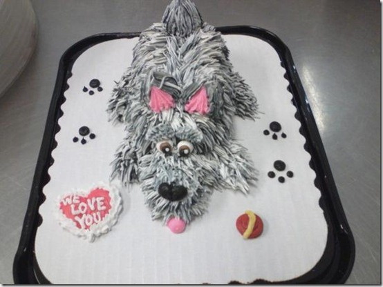 Schnauzer Critter by AingelCakes thumb 100 Amazing Examples Of Art You Can Eat