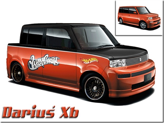 Scion Xb Virtual Tuning by Darius Dragon thumb 50 Great Examples of Car Tuning In PhotoShop