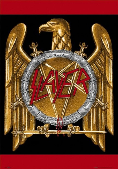 SlayerLogo 456x650 10 The best Rock/Metal Bands Logos