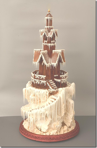 Snow way to make a cake by sweetasanut thumb 100 Amazing Examples Of Art You Can Eat