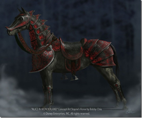Stayne  s Horse by imaginism thumb 40 Beautiful Digital Painted Horses