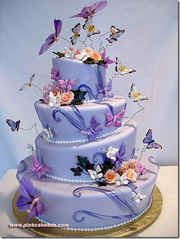 Topsy Turvy Quinceanera Cake by pinkcakebox thumb 100 Amazing Examples Of Art You Can Eat