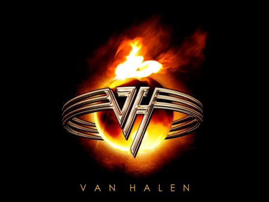 Van Halen logoLarge 550x412 10 The best Rock/Metal Bands Logos