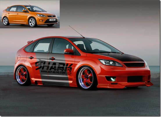 Virtual tuning ford by sharkurban thumb 50 Great Examples of Car Tuning In PhotoShop