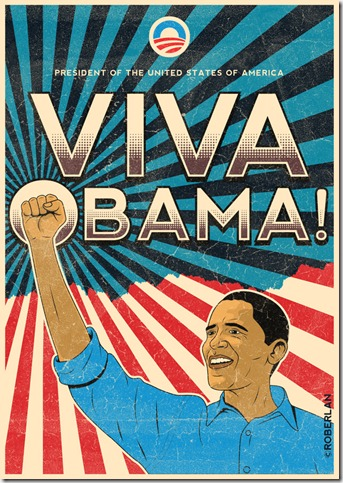 Viva Obama by roberlan thumb 33 Pictures Inspired By Barack Obama
