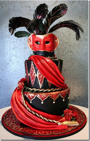 Who was that masked cake  by sweetasanut thumb 100 Amazing Examples Of Art You Can Eat