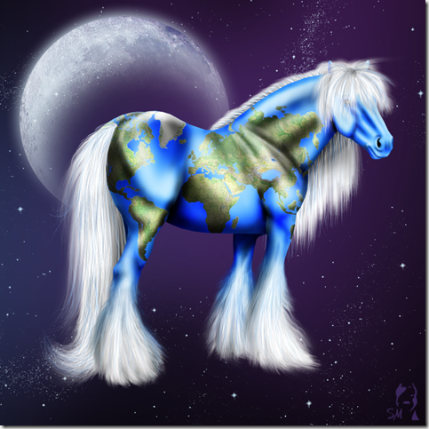 World of Horse by Tigra1988 thumb 40 Beautiful Digital Painted Horses