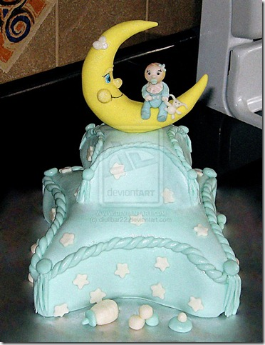 baby shower2 by diullbar22 thumb 100 Amazing Examples Of Art You Can Eat