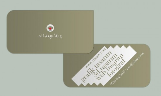 bussines card by cihanYILDIZ 550x330 20 Beautiful Business Card Designs