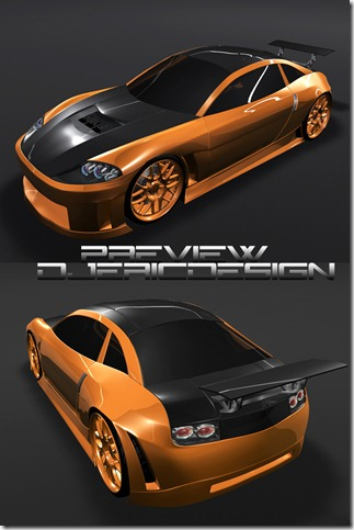 concept tuning by djeric thumb 50 Great Examples of Car Tuning In PhotoShop