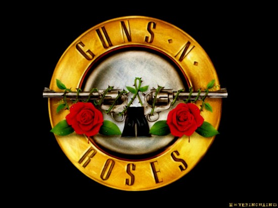 gnrbig4tn 550x412 10 The best Rock/Metal Bands Logos