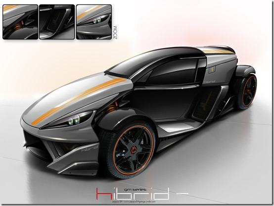 hibrid virtual tuning peppus84 by peppus84 thumb 50 Great Examples of Car Tuning In PhotoShop
